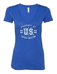 Ladies Bella Canvas Deep V-Neck Tee
