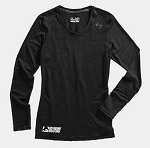 Under Armour Women's HeatGear Sonic Longsleeve