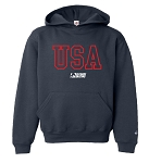 Youth Hooded USA Sweatshirt