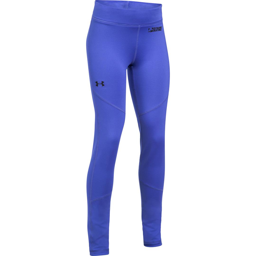 d2814a8f2d Under Armour Girls Coldgear Purple Legging