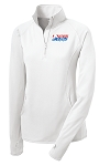 Ladies Stretch Adult Skating 1/2 Zip Pullover