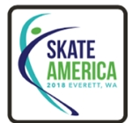 2018 Everett Skate America Lapel Pin