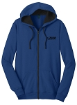 Mens Full Zip Royal Hoody