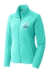 2016 Skate America Ladies Heather Microfleece Jacket