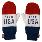 Team USA Color Block Mittens