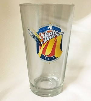Skate America Pint Glass