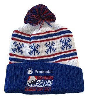 2017 Prudential U.S. Figure Skating Championships Pom Beanie