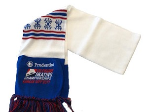 2017 Prudential U.S. Figure Skating Championships Scarf