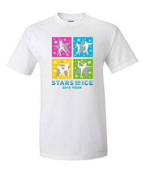 2015 Stars On Ice White Tee