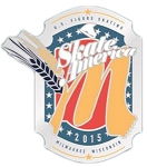 2015 Milwaukee Skate America Lapel Pin