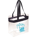 2017 Prudential U.S. Figure Skating Championships Clear Tote Bag