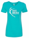 2018 Skate America Youth Fitted Tee