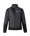 Commute Mens 3-Layer Light Bonded Two Tone Carbon Soft Shell Jacket