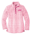 Women's Cozy 1/4-Zip Sherpa Fleece