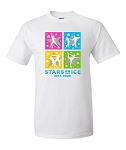 2015 Stars On Ice ADULT White Tee