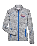 2020 Greensboro Championships Ladies Mélange Platinum/Olympic Blue Jacket