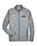 2020 Greensboro Championships Men's Mélange Platinum/Olympic Blue Jacket