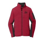2020 Greensboro Championships Ladies Summit Fleece Rich Red Jacket