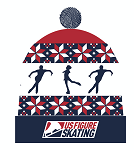 LIMITED EDITION US Figure Skating Ugly Sweater Knit Hat