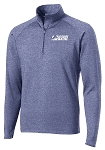 Men's Heather Navy 1/2-Zip Pullover