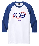100 Years 3/4-Sleeve Raglan - Deep Royal