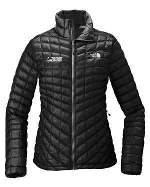The North Face Ladies ThermoBall Trekker Black Jacket