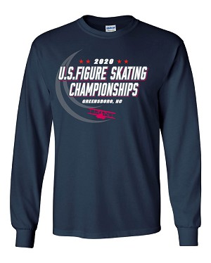 2020 Greensboro Champs Youth Unisex Long-Sleeve Tee